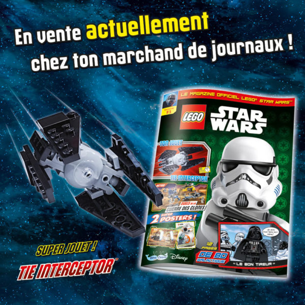 LEGO Star Wars Magazine - Janvier 2021