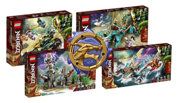 Nouveautés LEGO Ninjago 2021
