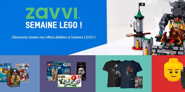 Semaine LEGO chez ZAVVI