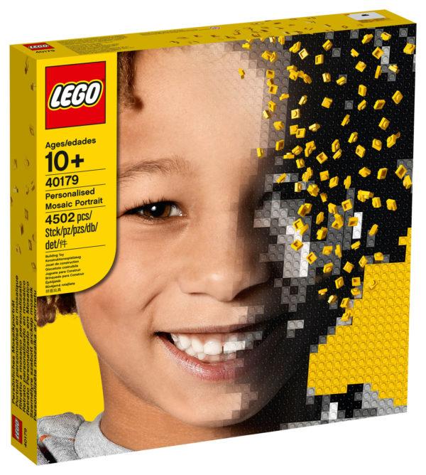 LEGO 40179 Personalised Mosaic Portrait