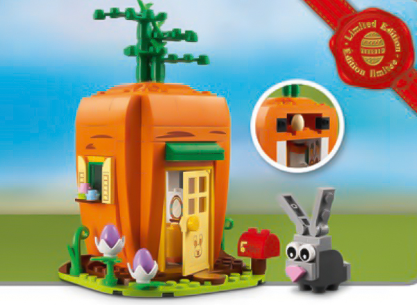 40449 Easter's Bunny Carrot House