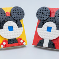 LEGO Brick Sketches Disney 40456 Mickey Mouse & 40457 Minnie Mouse