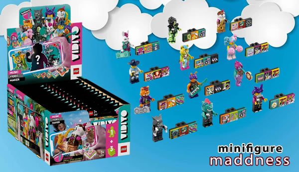 Chez Minifigure Maddness : Des Bandmates LEGO VIDIYO un peu moins chers que chez LEGO