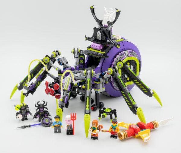 LEGO Monkie Kid 80022 Spider Queen's Arachnoid Base