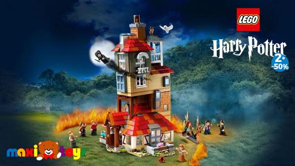 Chez Maxi Toys : 50% de réduction sur le 2ème set LEGO Harry Potter ou CITY