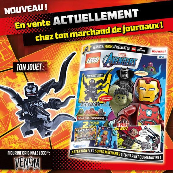 lego marvel avengers magazine fevrier 2021 venom minifigure