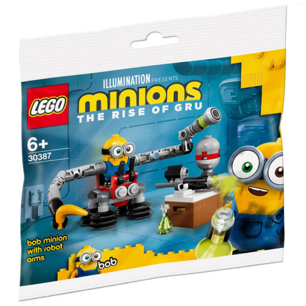 lego minions 2021 30387 bob minion with robot arms 1