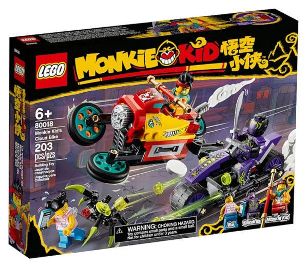 LEGO Monkie Kid 80018 Monkie Kid's Cloud Bike