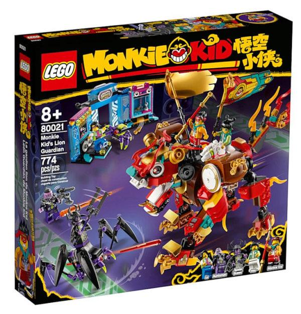 LEGO Monkie Kid 80021 Monkie Kid's Lion Guardian