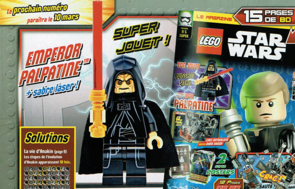 lego starwars magazine emperor palpatine mars 2021
