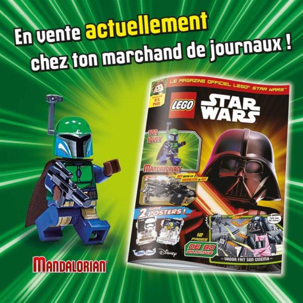 lego starwars magazine fevrier 2021 mandalorian minifigure