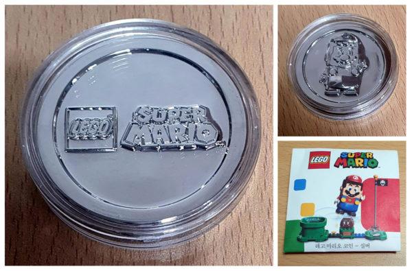 lego super mario silver coin gwp korea 2020