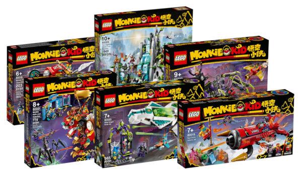 Nouveautés LEGO Monkie Kid 2021 : quelques visuels officiels