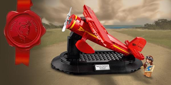 乐高40450 Amelia Earhart致敬