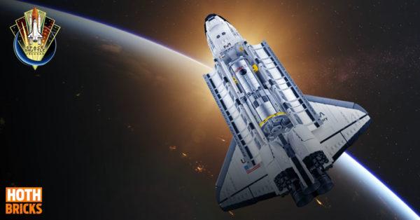Concours : Un exemplaire du set LEGO 10283 NASA Space Shuttle Discovery à gagner !