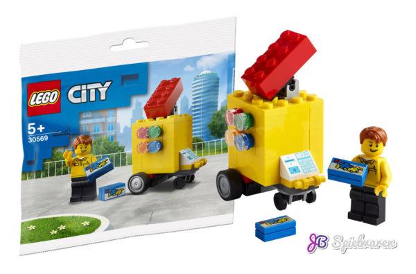 Chez JB Spielwaren : Polybag 30569 LEGO Stand offert dès 50 € d'achat
