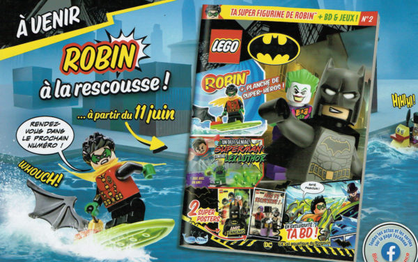 lego batman magazine juin 2021 robin minifig