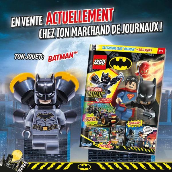 lego magazine batman dccomics mars 2021