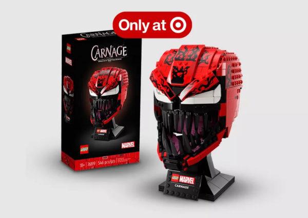 LEGO Marvel Spider-Man 76199 Carnage Helmet