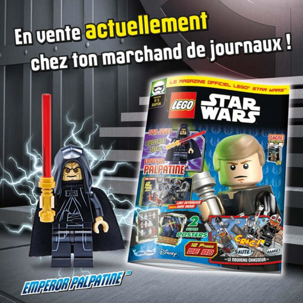 Magazine officiel LEGO Star Wars - Mars 2021