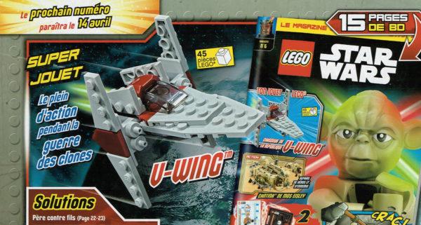 Magazine officiel LEGO Star Wars - Avril 2021