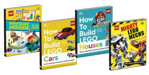 Nouveaux Livres LEGO à paraître en 2021 : Aventures, voitures, maisons et robots