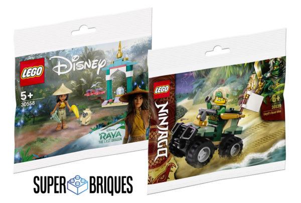 Chez Super Briques : Polybag Disney ou Ninjago offert dès 59 € d'achat