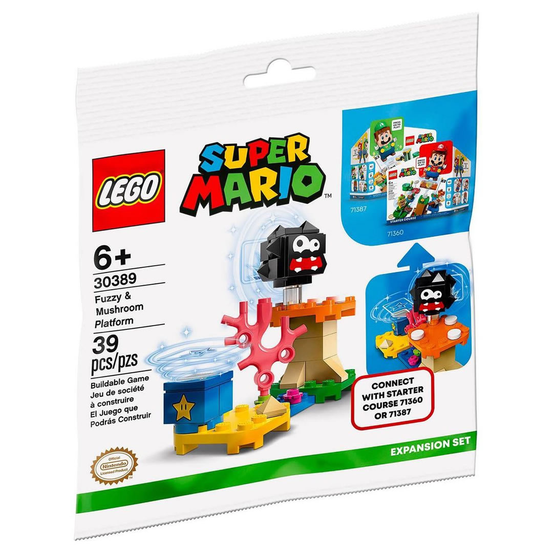 Nintendo s'associe avec LEGO ! - Page 5 30389-lego-super-mario-fuzzy-mushroom-platform-1
