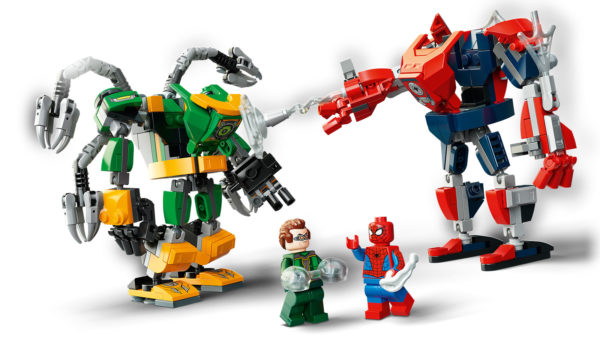 LEGO Marvel 76198 Spider-Man & Doctor Octopus Mech Battle