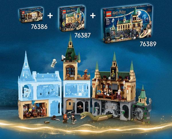 76389 lego harry potter chamber of secrets combine modular