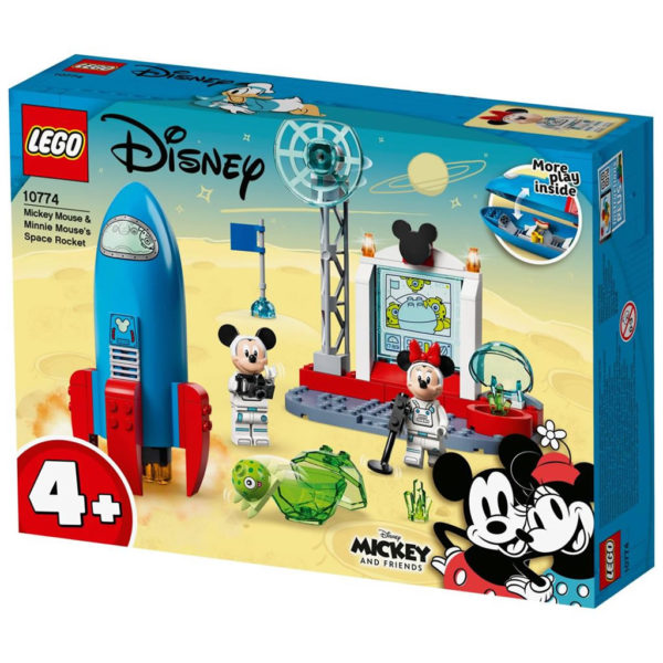 LEGO 10774 Mickey Mouse and Minnie Mouses Space Rocket