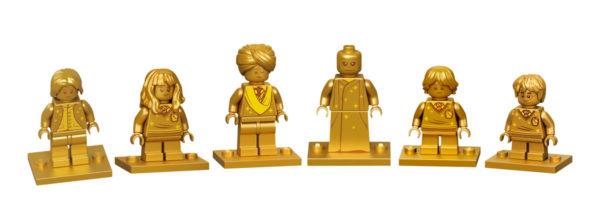 LEGO Harry Potter 20th Anniversary Golden Minifiguresjpg