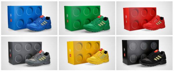 adidas x Lego Drop April ZX8000 all colors