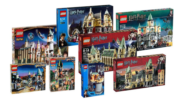 lego harry potter sets 2000 years