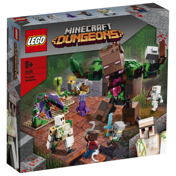LEGO Minecraft 21176 The Jungle Abomination