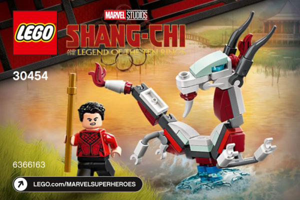 LEGO Marvel Shang-Chi 30454 Shang-Chi and The Great Protector