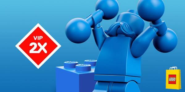 Sur le Shop LEGO : Points VIP doublés jusqu'au 20 avril 2021