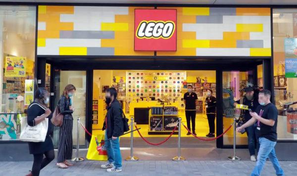 Le nouveau LEGO Store de Bruxelles est ouvert