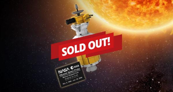 LEGO 5006744 Ulysses Satellite : lancement chaotique pour la nouvelle récompense VIP