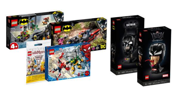 nouveautes lego shop avril 2021 marvel dccomics minions looney tunes 2
