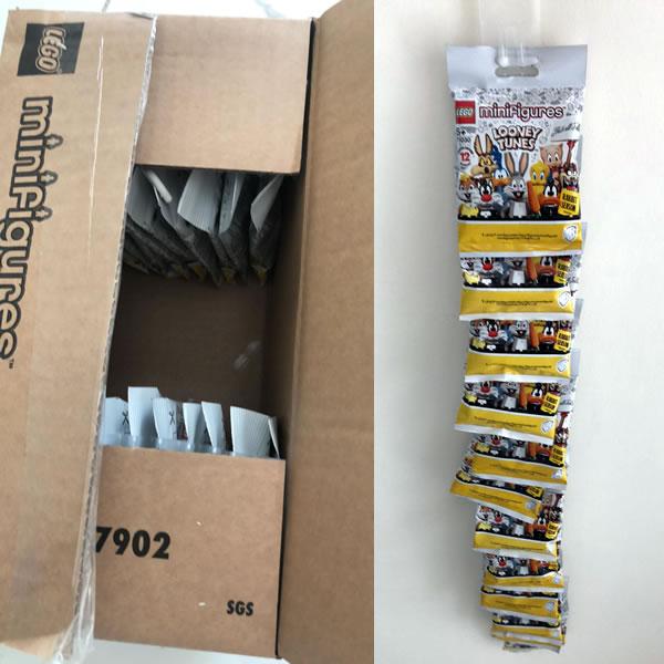 71030 lego looney tunes minifigures box 36 minifigure maddness
