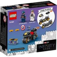 LEGO Marvel Infinity Saga 76189 Captain America and HYDRA Face-Off