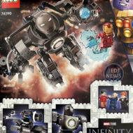 76190 Iron Man : Iron Monger Mayhem