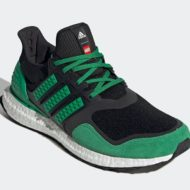 LEGO adidas Ultra Boost DNA Black Green H67954 Release Date 1