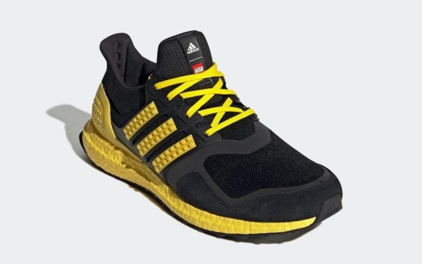 LEGO adidas Ultra Boost DNA Black Yellow H67953 Release Date 1