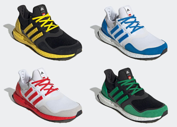 LEGO adidas Ultra Boost DNA Color Pack Release Date