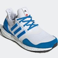 LEGO adidas Ultra Boost DNA White Blue H67952 Release Date 1