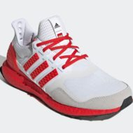 LEGO adidas Ultra Boost DNA White Red H67955 Release Date 1