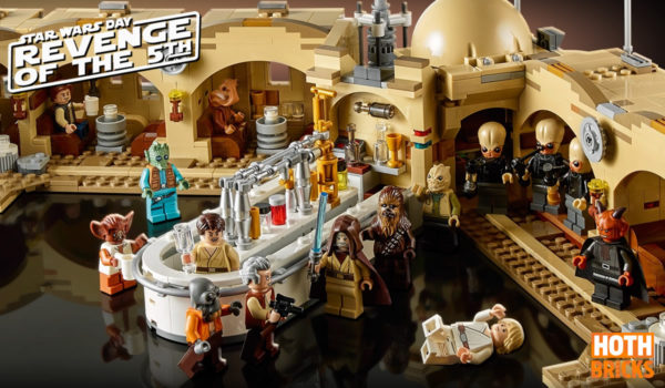 Concours Revenge of the 5th : Un exemplaire du set LEGO Star Wars 75290 Mos Eisley Cantina à gagner