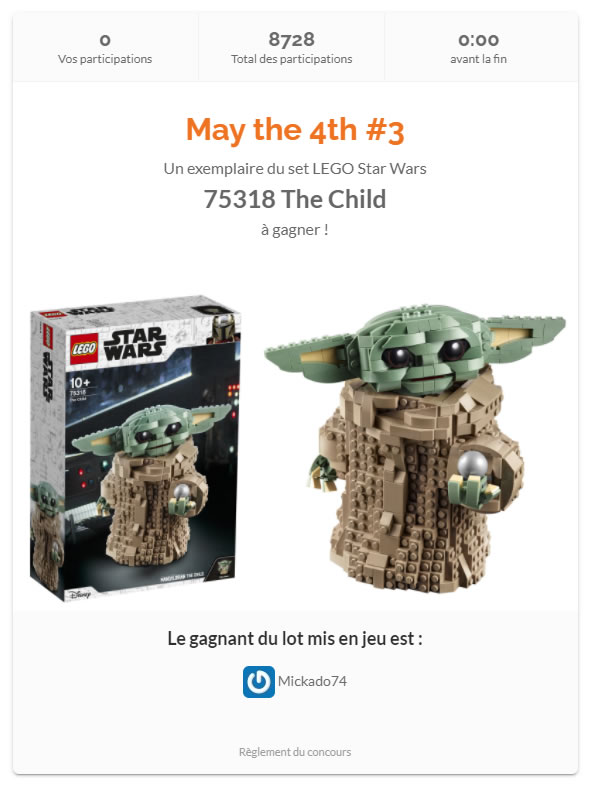 lego 75318 the child contest results hothbricks